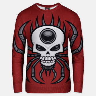 Thumbnail image of Skull Spider Cotton sweater, Live Heroes