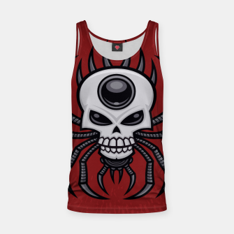 Thumbnail image of Skull Spider Tank Top, Live Heroes