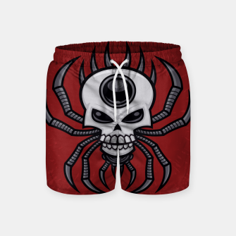 Thumbnail image of Skull Spider Swim Shorts, Live Heroes