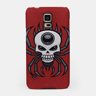 Thumbnail image of Skull Spider Samsung Case, Live Heroes