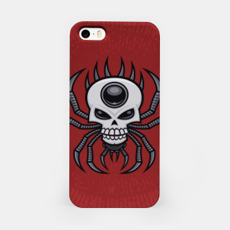 Thumbnail image of Skull Spider iPhone Case, Live Heroes