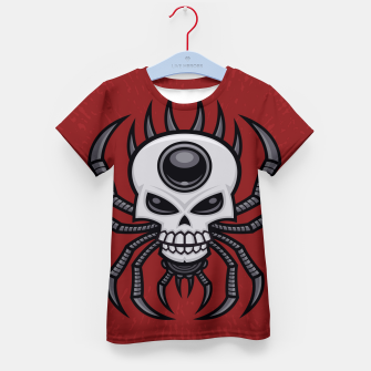 Thumbnail image of Skull Spider Kid's t-shirt, Live Heroes