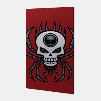 Thumbnail image of Skull Spider Canvas, Live Heroes