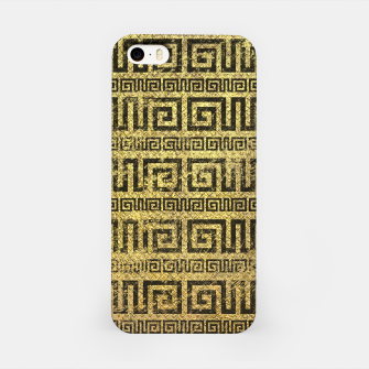Thumbnail image of Vintage Gold  Greek Meander Pattern  iPhone Case, Live Heroes