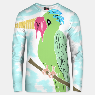 Thumbnail image of Parrot and Ice cream Cotton sweater, Live Heroes