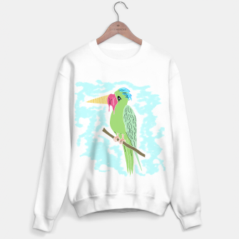 Thumbnail image of Parrot and Ice cream Sweater regular, Live Heroes