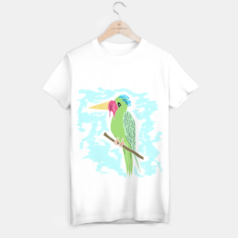 Thumbnail image of Parrot and Ice cream T-shirt regular, Live Heroes