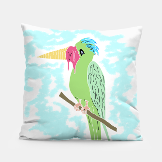 Thumbnail image of Parrot and Ice cream Pillow, Live Heroes