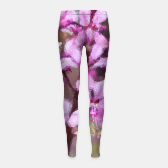 Thumbnail image of Flowers Legginsy dziewczęce, Live Heroes