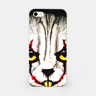 Miniaturka gxp cat clown katze kittywise vector art no kein text iPhone-Hülle, Live Heroes