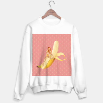 Banana Love Sweater regular obraz miniatury