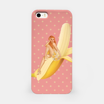 Banana Love iPhone Case obraz miniatury