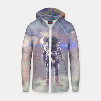 Thumbnail image of Cloud Cotton zip up hoodie, Live Heroes