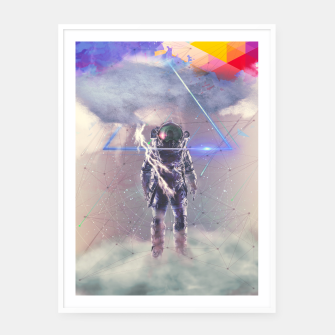 Thumbnail image of Cloud Framed poster, Live Heroes