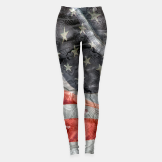 Miniatur Home of the Brave Leggings, Live Heroes