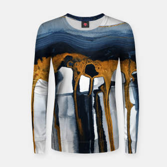 Thumbnail image of Liquid Hills Woman cotton sweater, Live Heroes