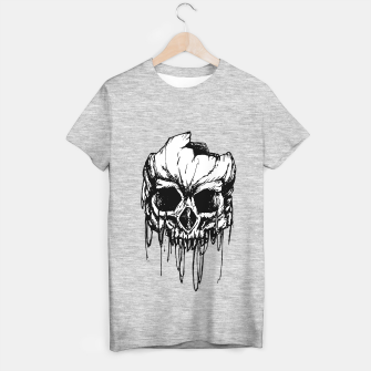 Thumbnail image of Skull wreck T-shirt regular, Live Heroes