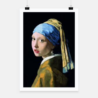 Thumbnail image of Girl with the Pearl Earring Poster, Live Heroes