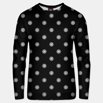 Thumbnail image of Orb Glyphs Black Cotton sweater, Live Heroes