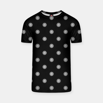 Thumbnail image of Orb Glyphs Black T-shirt, Live Heroes