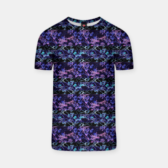 Thumbnail image of Dark Chinoiserie Vintage Floral Collage T-shirt, Live Heroes
