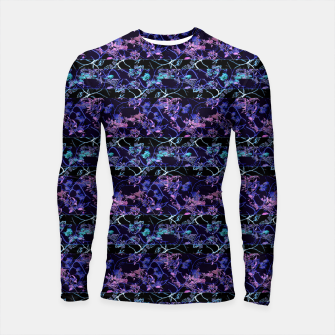 Thumbnail image of Dark Chinoiserie Vintage Floral Collage Longsleeve rashguard , Live Heroes