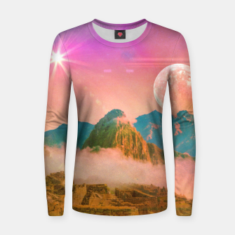 Thumbnail image of Ruins: Household of gods Woman cotton sweater, Live Heroes