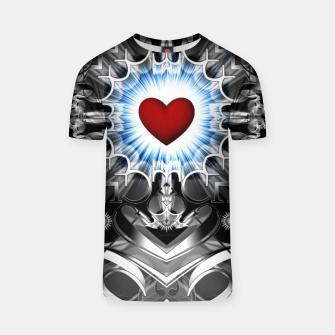 Thumbnail image of Heart Of The Glyphs T-shirt, Live Heroes