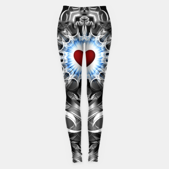 Thumbnail image of Heart Of The Glyphs Leggings, Live Heroes