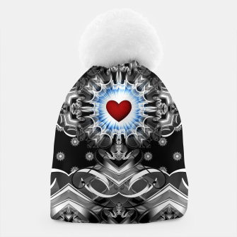 Thumbnail image of Heart Of The Glyphs Beanie, Live Heroes