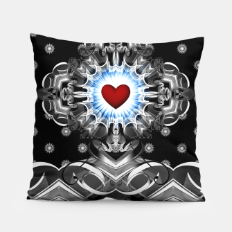 Thumbnail image of Heart Of The Glyphs Pillow, Live Heroes