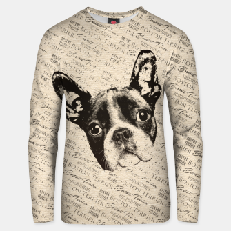 Thumbnail image of Boston Terrier Cotton sweater, Live Heroes