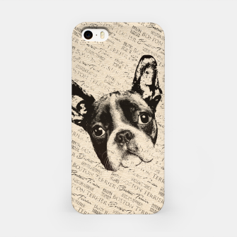 Thumbnail image of Boston Terrier iPhone Case, Live Heroes