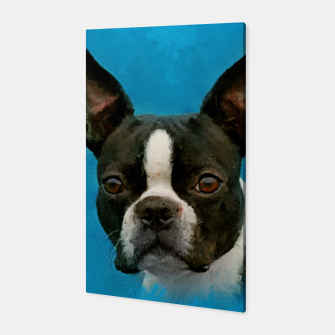 Thumbnail image of Boston Terrier  Canvas, Live Heroes
