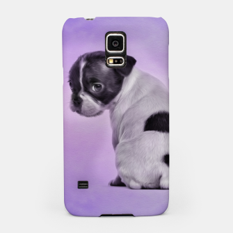 Thumbnail image of Boston Terrier dog Samsung Case, Live Heroes