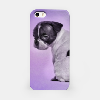 Thumbnail image of Boston Terrier dog iPhone Case, Live Heroes