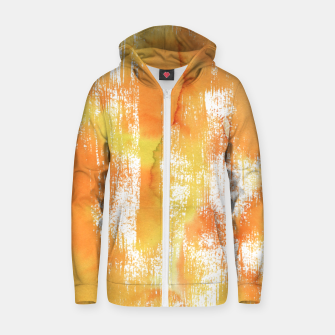 Thumbnail image of Yellow Shade Cotton zip up hoodie, Live Heroes