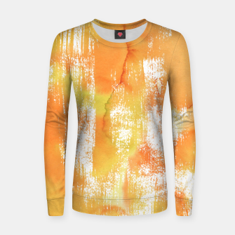 Thumbnail image of Yellow Shade Woman cotton sweater, Live Heroes