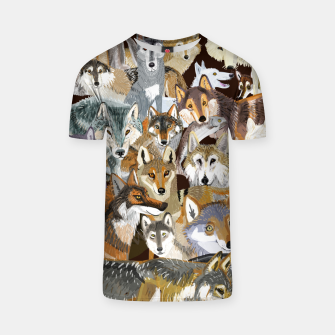 Imagen en miniatura de Wolves o´clock (Time to Wolf)  Camiseta, Live Heroes