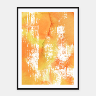 Thumbnail image of Yellow Shade Framed poster, Live Heroes