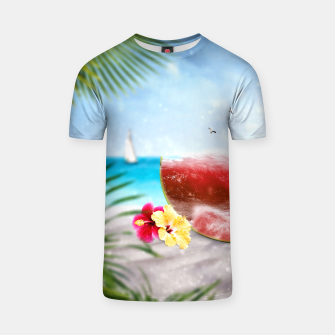 Thumbnail image of Surf the Melon T-Shirt, Live Heroes