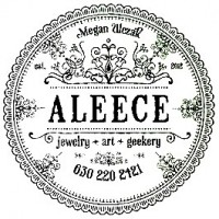 Aleece Jewelry Art and Geekery logo