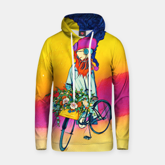 Colourful Bicycle Cotton hoodie obraz miniatury