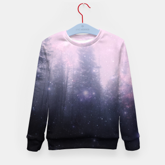 Thumbnail image of Misty Forest Kid's sweater, Live Heroes