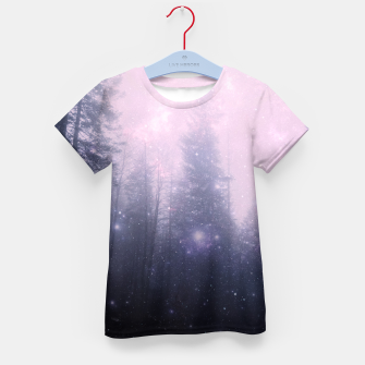 Thumbnail image of Misty Forest Kid's t-shirt, Live Heroes