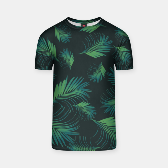 Thumbnail image of Tropical Night Palms Pattern #1 #tropical #decor #art T-Shirt, Live Heroes