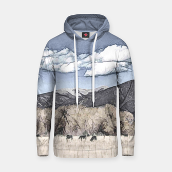 Thumbnail image of New Mexico Countryside Cotton hoodie, Live Heroes