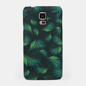 Thumbnail image of Tropical Night Palms Pattern #1 #tropical #decor #art Handyhülle für Samsung, Live Heroes