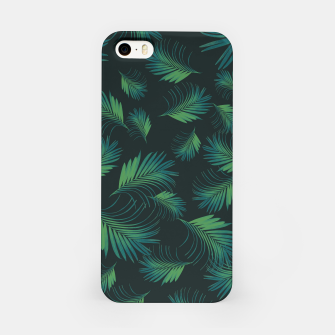 Thumbnail image of Tropical Night Palms Pattern #1 #tropical #decor #art iPhone-Hülle, Live Heroes