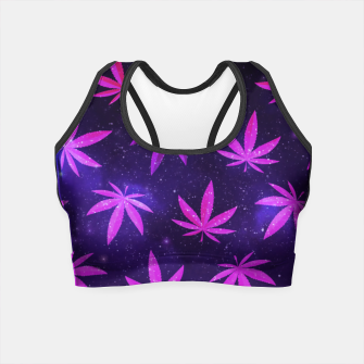 Thumbnail image of Space Pot Crop Top, Live Heroes